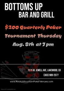 ROCKY MOUNTAIN POKER PLAYERS (720) 937-4691   FREE Bar Poker